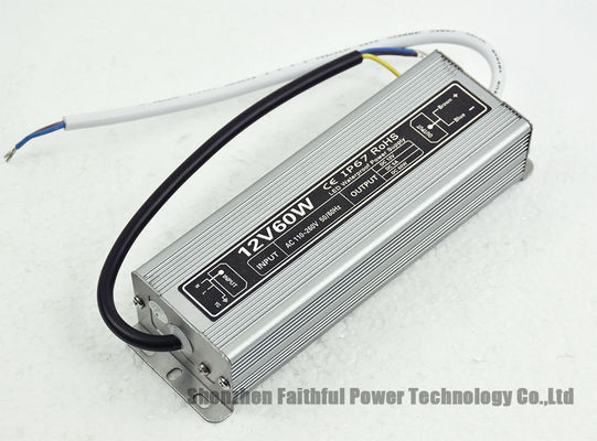 Waterproof LED Strip Light Driver 60 W 12 Volt Waterproof LED Power Supply 60W 12V 5A