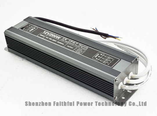 IP67 12V 24V Waterproof Transformer 200 Watt Waterproof LED Power Supply 200W DC12V DC24V