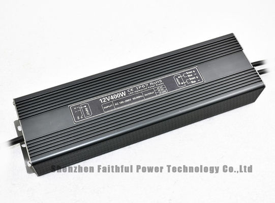China 400 Watt 12V 24V IP67 Waterproof LED Power Supply 400W 33.3A 16.7A for Sign Lighting factory