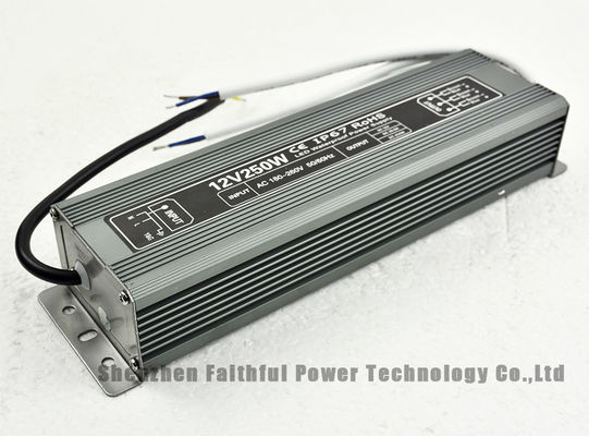 China 250 Watt IP67 DC 12V Waterproof LED Power Supply 20.8A 250W 12V LED Strip Driver factory